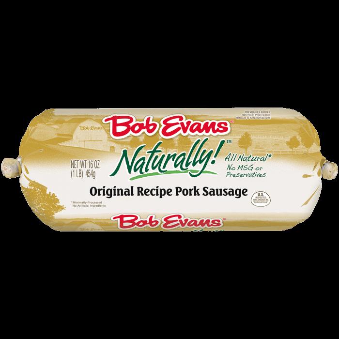 Bob Evans Naturally! Original Roll Sausage