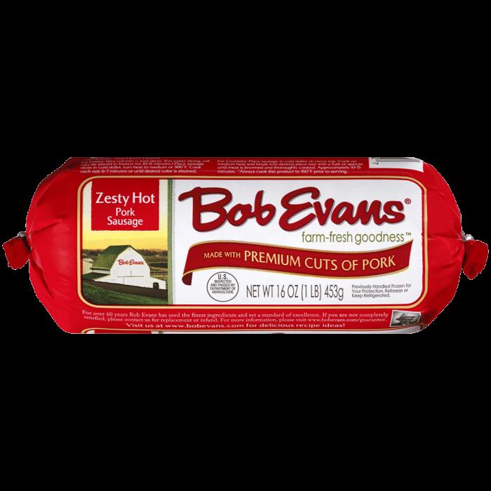 Bob Evans Zesty Hot Roll Sausage