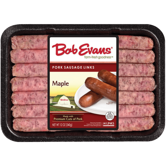 Bob Evans Maple Links 12 oz