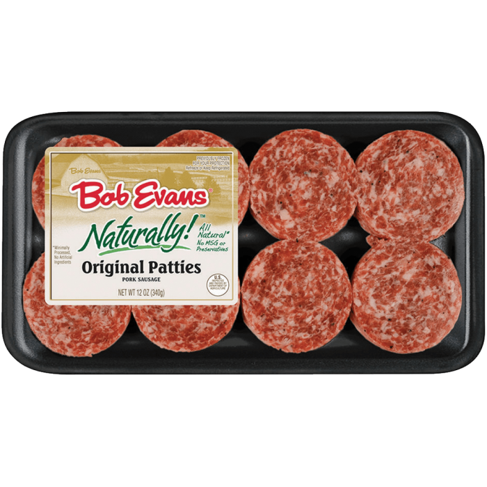 Bob Evans Naturally! Original Pork Sausage Patties