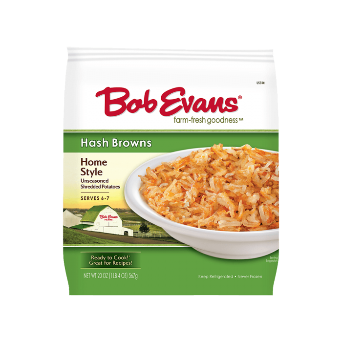 Bob Evans Home Style Hash Browns
