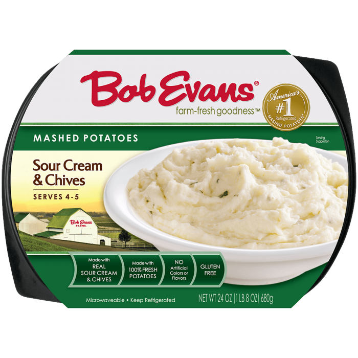 Bob Evans Sour Cream & Chive Mashed Potatoes