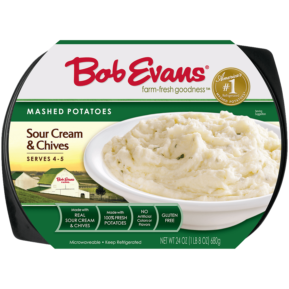 Bob Evans Sour Cream & Chive Mashed Potatoes