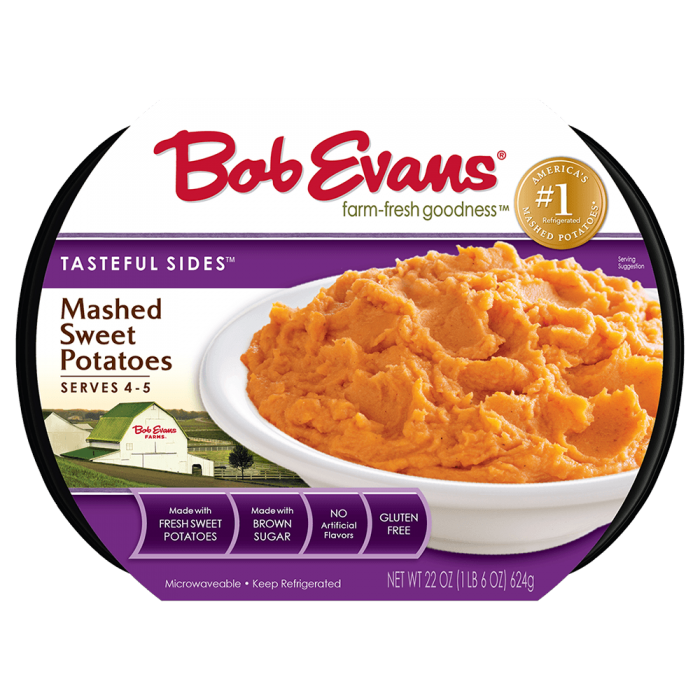 Bob Evans Mashed Sweet Potatoes