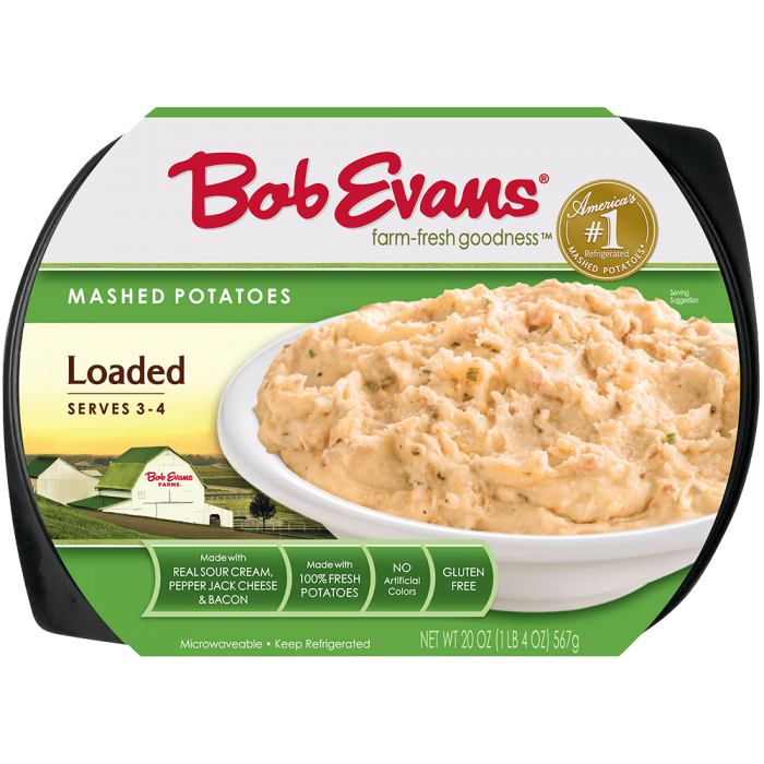 Bob Evans Loaded Mashed Potatoes