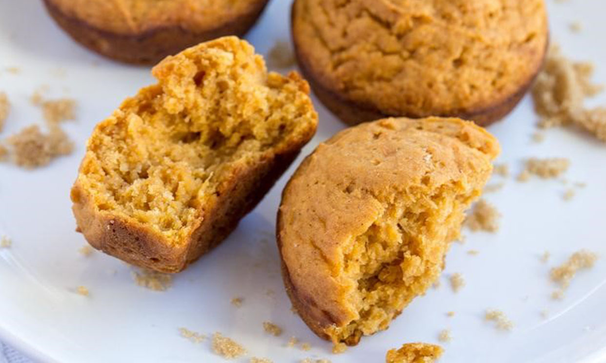 Brown Sugar Sweet Potato Muffins