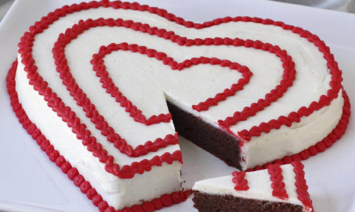 Chocolate Potato Cake for Valentine's Day