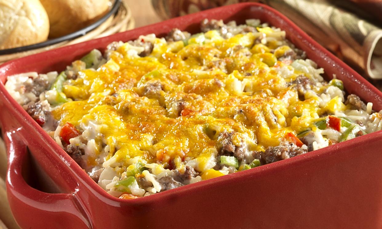 Rice & Sausage Casserole