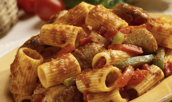 Sausage and Pepper Rigatoni