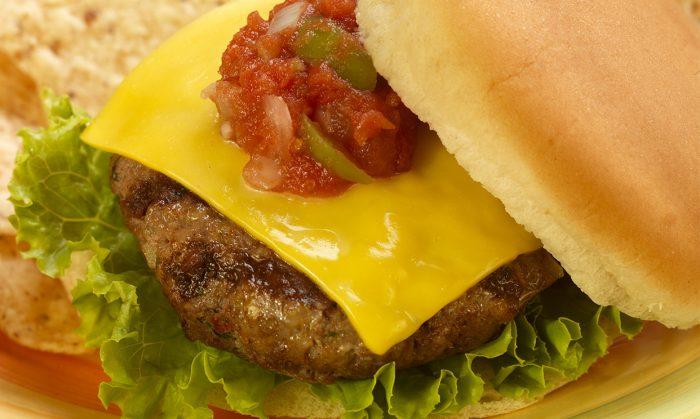 Southwest Sausage Burger
