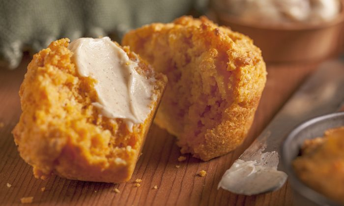 Sweet Potato Cornbread Muffins