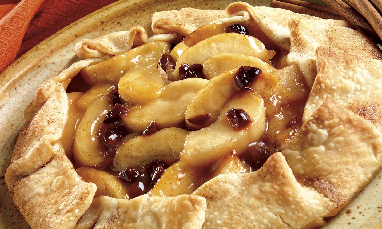 Apple Cherry Free Form Pie
