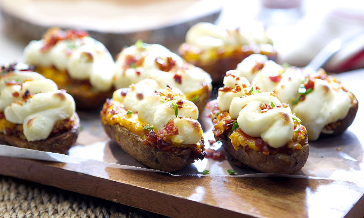 Bacon Potato Boats