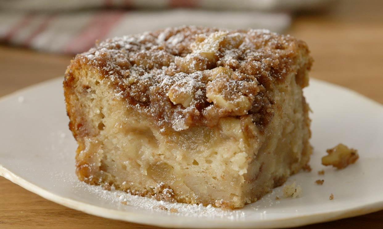 Grandma S Cinnamon Walnut Coffee Cake Recipe