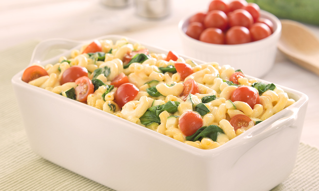 Veggie Macaroni and Cheese